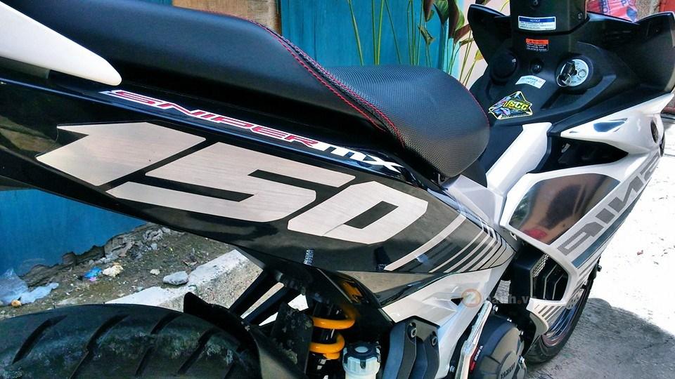 Exciter 150 trắng bạc tinh khôi của biker nước bạn - 2