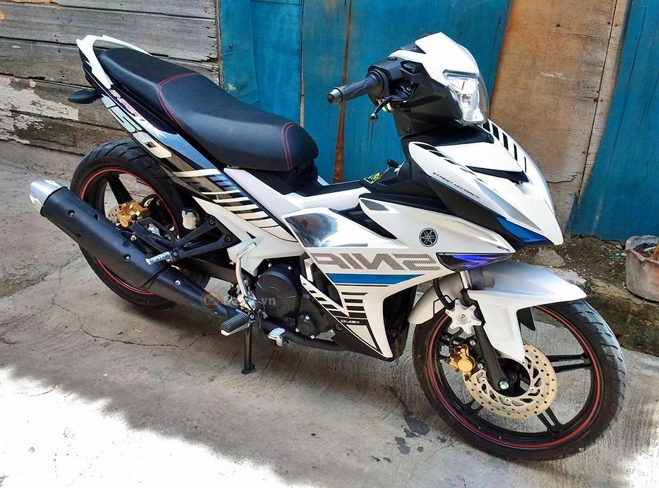 Exciter 150 trắng bạc tinh khôi của biker nước bạn - 3