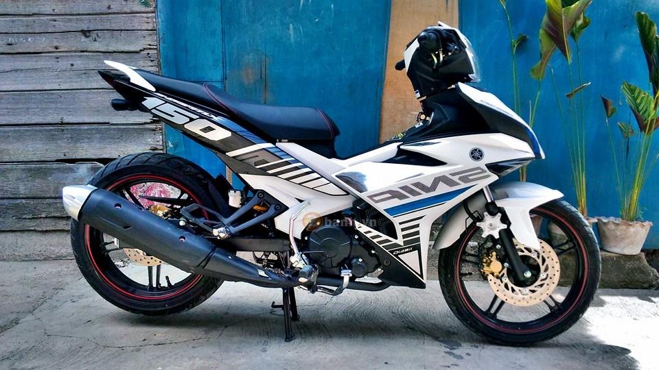 Exciter 150 trắng bạc tinh khôi của biker nước bạn - 4