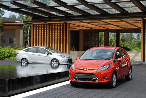 ford fiesta - xe dành cho phụ nữ tốt nhất 2013 - 1