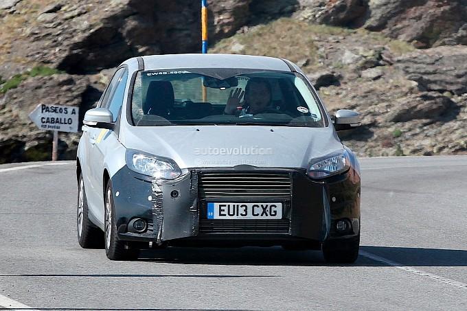 ford focus bản nâng cấp lộ diện trên đường thử - 1