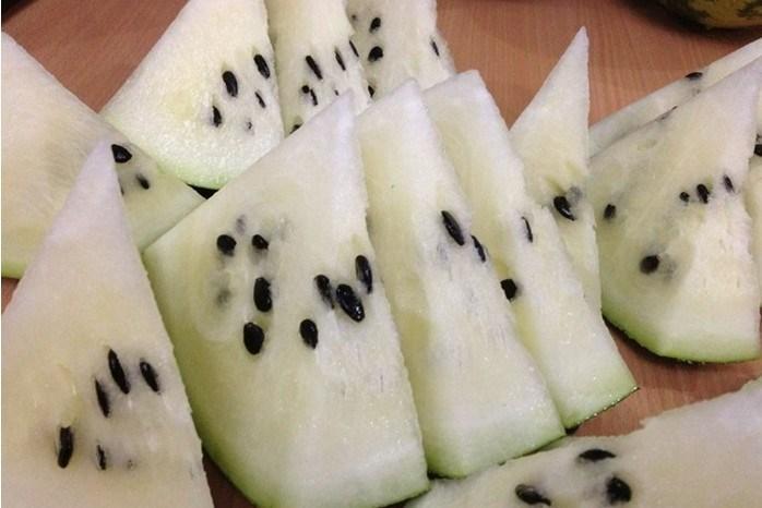 Hạt giống dưa hấu ruột trắng lạ mắt hút hàng - 7