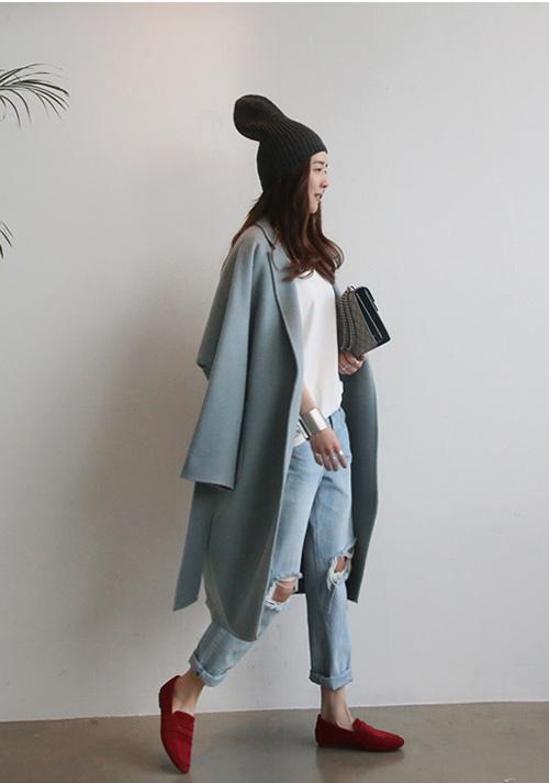 Hãy quên nâu - đen - xanh đi áo khoác pastel mới hot năm nay - 14