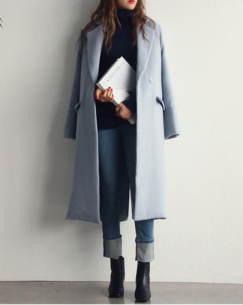 Hãy quên nâu - đen - xanh đi áo khoác pastel mới hot năm nay - 15