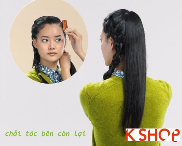 Hướng dẫn cách tết tóc đẹp 2017 đơn giản mang phong cách hàn quốc