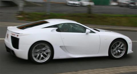 siêu xe lexus lf-a lộ diện toàn phần - 2