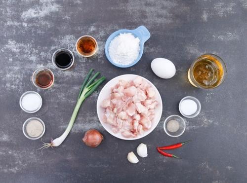 Sụn gà rang muối tiêu thơm ngon giòn sần sật - 1