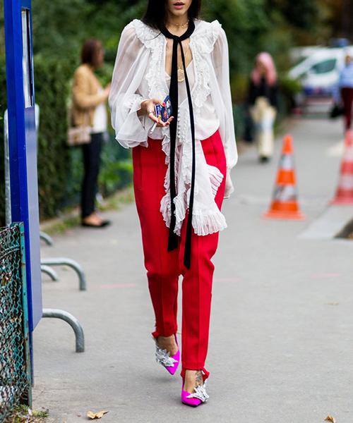 Thêm một kiểu quần sành điệu bất ngờ cho nữ công sở thích nổi bật - 10