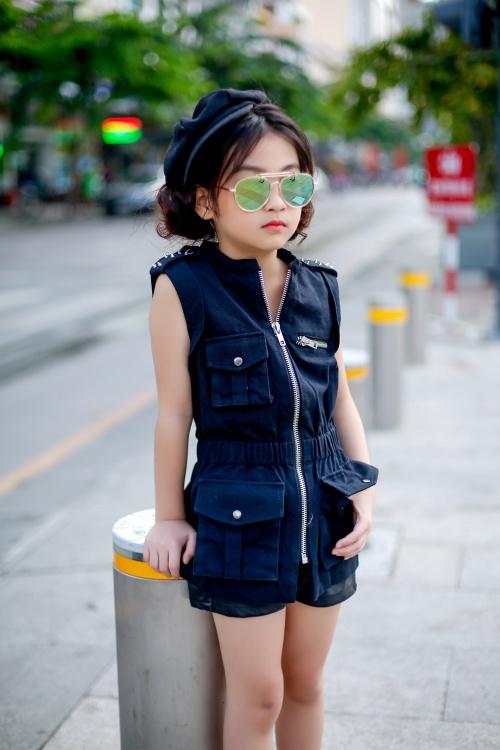 Thiên thần 7 tuổi hà nội đi đâu cũng sáng nhất phố vì mặc cực chất - 8