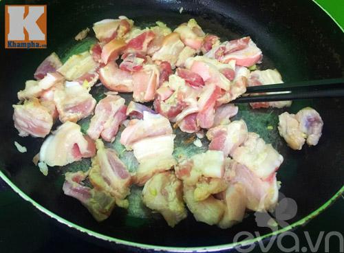 Thịt ba chỉ rang lá mắc mật trôi cơm phải biết - 5