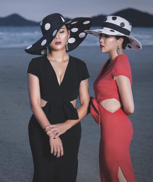Thời trang công sở chất lừ của hai quý cô song sinh - 3