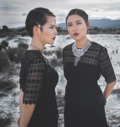 Thời trang công sở chất lừ của hai quý cô song sinh - 5