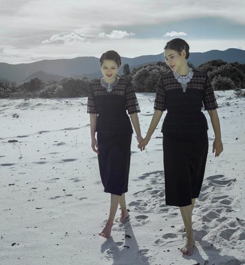Thời trang công sở chất lừ của hai quý cô song sinh - 6