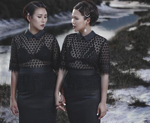 Thời trang công sở chất lừ của hai quý cô song sinh - 9