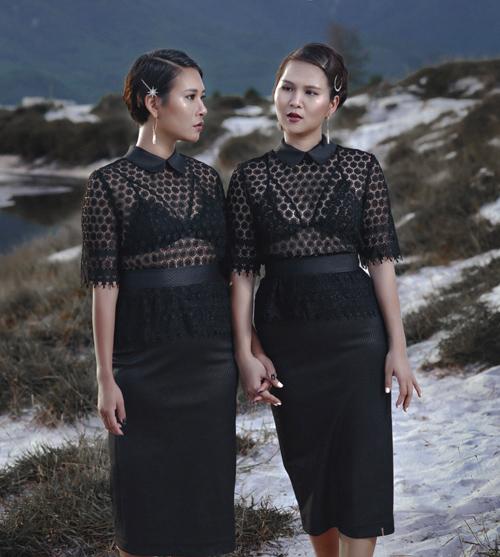 Thời trang công sở chất lừ của hai quý cô song sinh - 10
