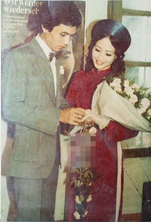 Trầm trồ ngắm lại váy cưới của sao việt mấy chục năm trước - 1