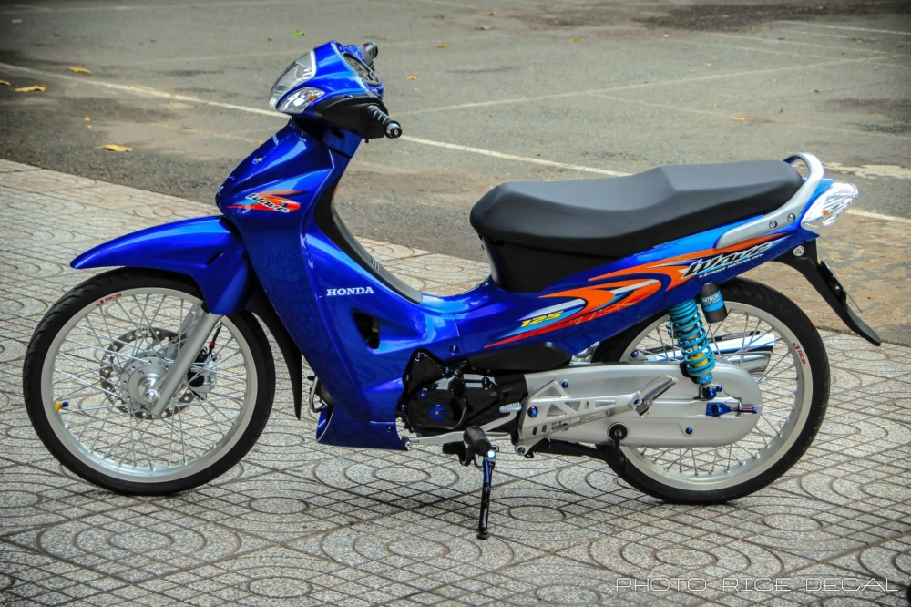 Wave 125 phiên bản blue đầy gợi cảm và quyến rũ - 2