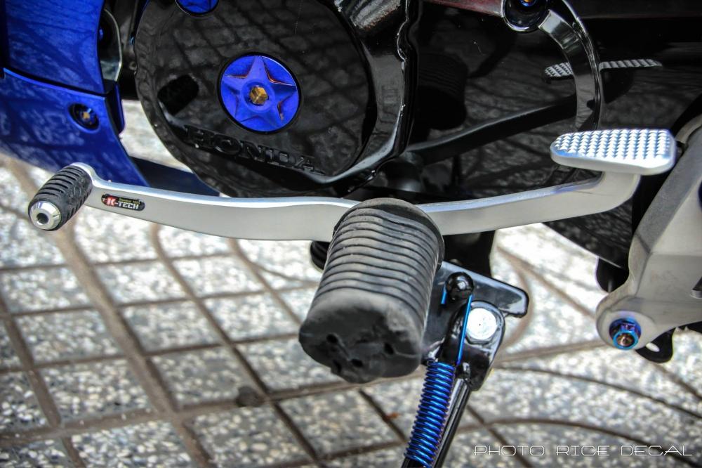 Wave 125 phiên bản blue đầy gợi cảm và quyến rũ - 5