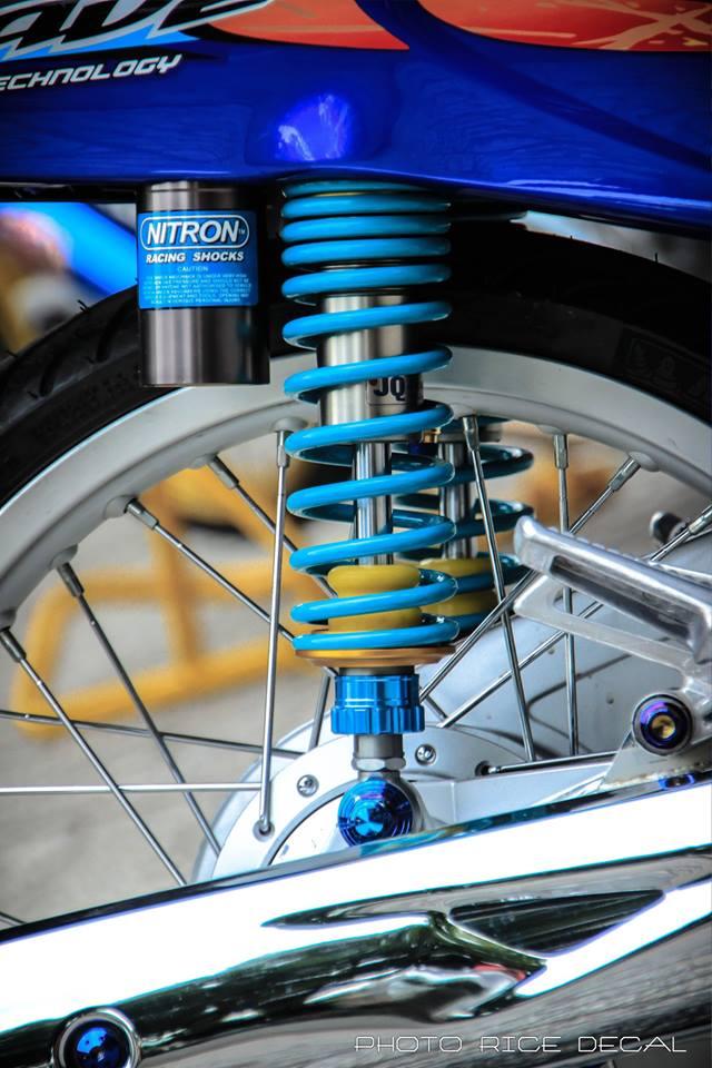 Wave 125 phiên bản blue đầy gợi cảm và quyến rũ - 8