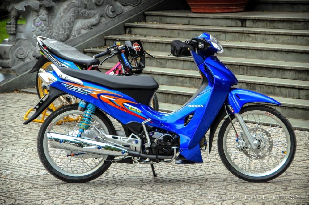 Wave 125 phiên bản blue đầy gợi cảm và quyến rũ - 9