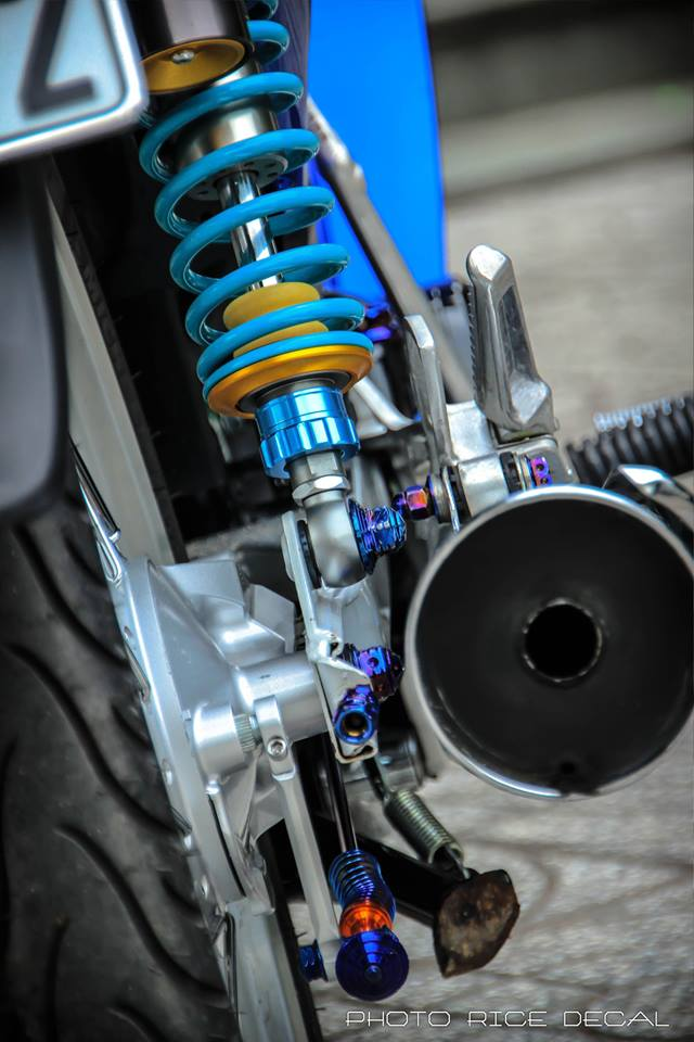 Wave 125 phiên bản blue đầy gợi cảm và quyến rũ - 10