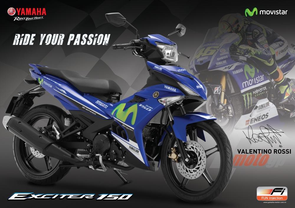 Yamaha exciter 150 chuẩn bị ra phiên bản màu mới - 2
