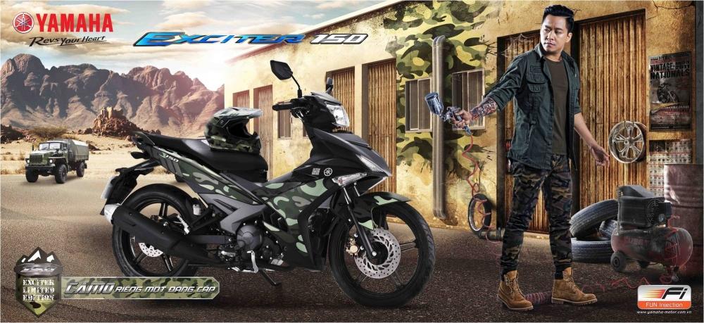 Yamaha exciter 150 chuẩn bị ra phiên bản màu mới - 3