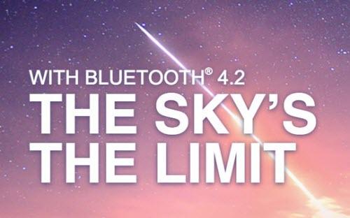 Chuẩn bluetooth 42 tăng tốc 25 lần hỗ trợ internet - 1